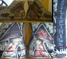 pyramid head PAIR FINISHED by DarkDevi