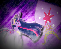 Princess Twilight Sparkle by JustaninnocentPony