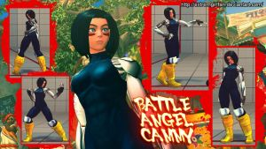 Battle Angel Cammy by Siegfried129