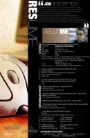 RESUME by m-deo
