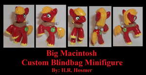 Custom Blindbag Big Macintosh by Gryphyn-Bloodheart