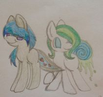 Two new OCs by Equinoxthealicorn