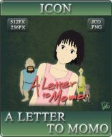 Anime Icon - A Letter to Momo by YT-AG