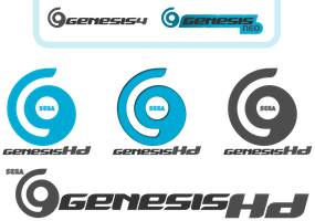 Genesis HD --- Logo Idea --Dreamcast successor-- by kevboard