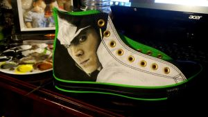 Loki: Converse WIP by GeeFreak