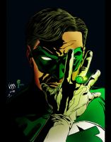 Green Lantern by iggzy