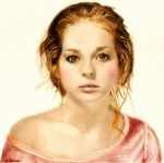 Pencil Drawing: Ksenia In Color by shuckaby