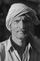 man with turban by valrevn
