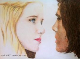 Constance and d'Artagnan by Saoirse-07