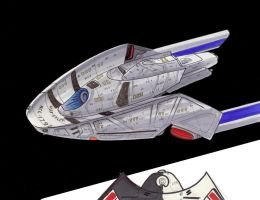 Star Trek USS SYLPH by Jepray