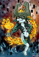 Midna, the Twilight Princess by dreamastermind