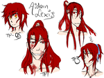 Sketches Aidan Lexis by 19Rei-Sama