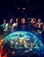 JUSTICE LEAGUE - Poster II by MrSteiners