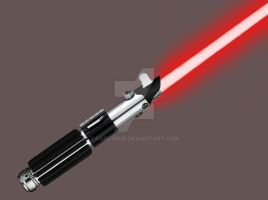 Kalin's lightsaber by Cascador