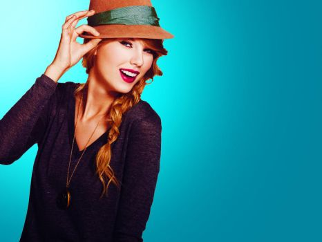 Simply Blue : Taylor Swift by EnchantingGraphics