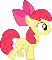 Adorable Applebloom by sunran80