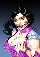 Mileena MKX Color by Th3DarkKn1ght