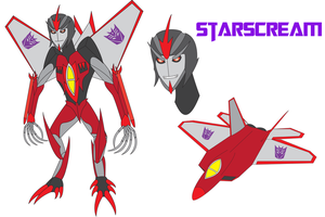Transformers Neo - STARSCREAM by Daizua123