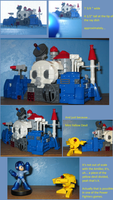 Lego Wily Castle 2 by Ultra-Charge