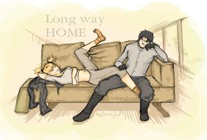 Harley, Jason - Long way home by Doragon12