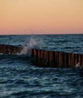 The wrath of the sea by Chauler