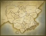 New Abroadia Map 2015 Territories by Samoschristina