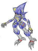 Metal Sonic Redesign by Metal-2