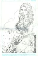 Aphrodite IX Sketch by Arciah