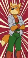 One More Fox McCloud... - by Cirrus by UberLoneWolf