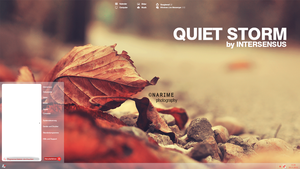 Quiet Storm Theme project by lpzdesign