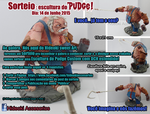 Pudge sculpture RAFFLE! by Hideoki