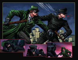 Green Hornet: Blood Ties 2n3 by MarkHRoberts