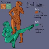 Ticol Twins the Moving Statues by The-Urge-Within