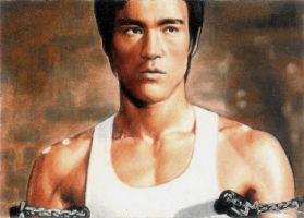 Bruce Lee color by jenchuan