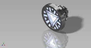 Iron Man Arc Reactor by TonyStarkItaly