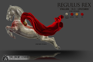 REGULUS REX - character sheet by THE--ENEMY