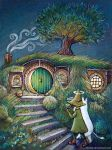 Moomin Hobbit by nokeek