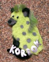 Korrok's Pattable Con Badge by Rahball