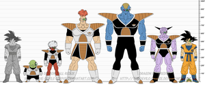 DBR Ginyu Special Squad by The-Devils-Corpse