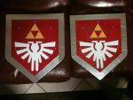 Links's Shields (LoZ - Four Swords) by FranciscoMartin