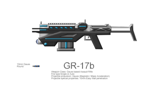 GR-17b Gauss Rifle by CommandoN