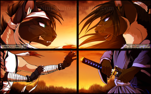 ['Brothers' from another place in time] by NinjaKato