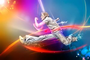 Leap Of Faith_Colorfull by InfiniteCreations