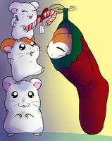 Dec 1 - Hamtaro by Celestial-Kumo