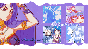 Juvia Lockster Icon Pack {20} by MewAqua1