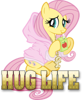 Hug Life Shirt by tygerbug