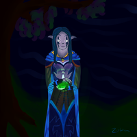 Elune guide my path by 70562