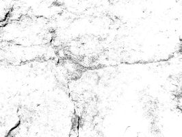 Black And White Subtle Rock Textures by sdwhaven