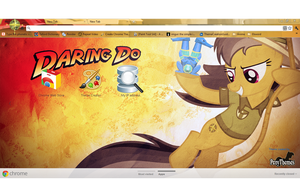 1980x1080 Daring Do Google Chrome Theme by Julien12826