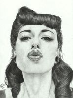 Pin-up girl by Joan95